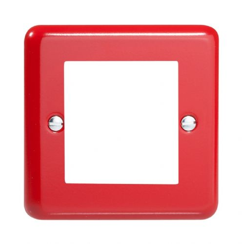 Varilight XYG2.PR Lily Primary Pillar Box Red DataGrid Plate (2 DataGrid Spaces)